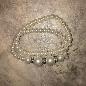 Two Pearl Bracelets